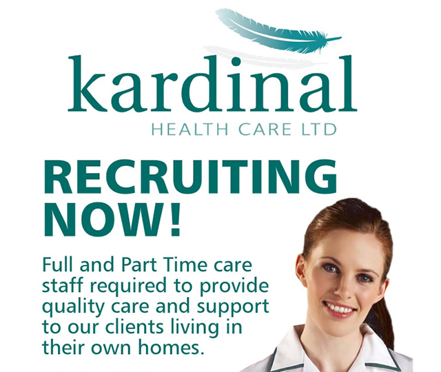Kardinal Healthcare Advert