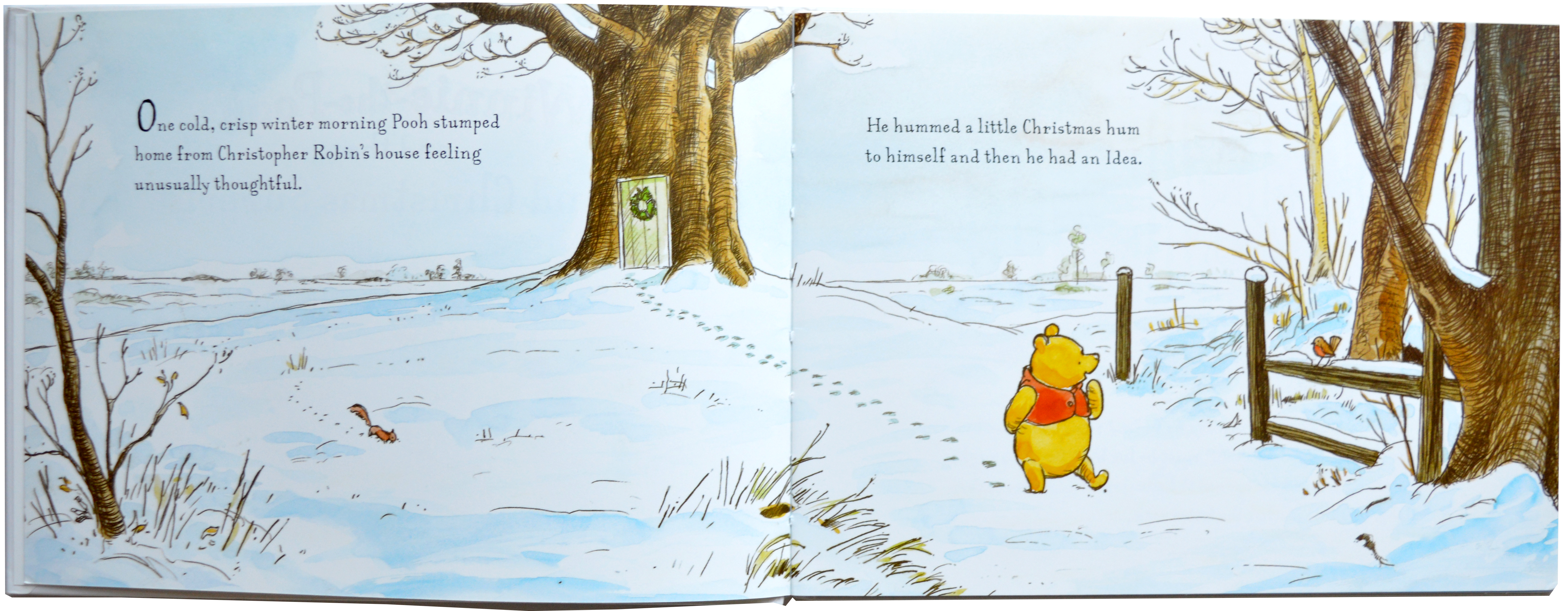 Winnie The Pooh And The Grand Christmas Surprise Juliet