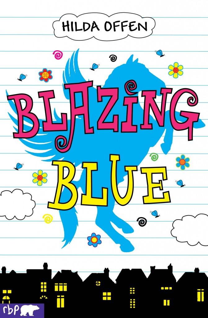 BLAZING BLUE COVER
