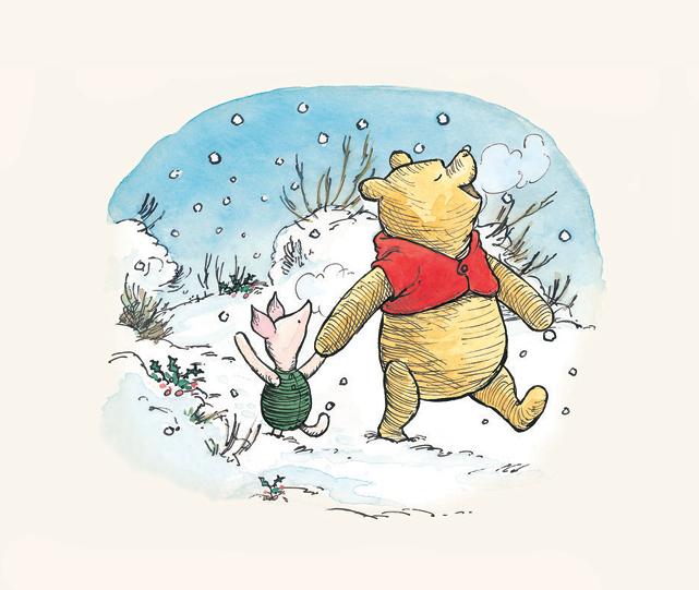Winnie-the-Pooh – Pooh's Snowy Day